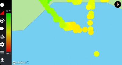 Fish Spy Echo Pro Review - Bathymetric mapping
